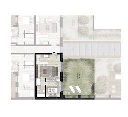 B0.1 Appartamento con giardino di Nuova Costruzione Porta Romana Milano - Vasari3