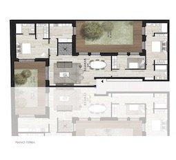 B0.4 + B0.5 Appartamenti con giardino di Nuova Costruzione Porta Romana Milano - Vasari3