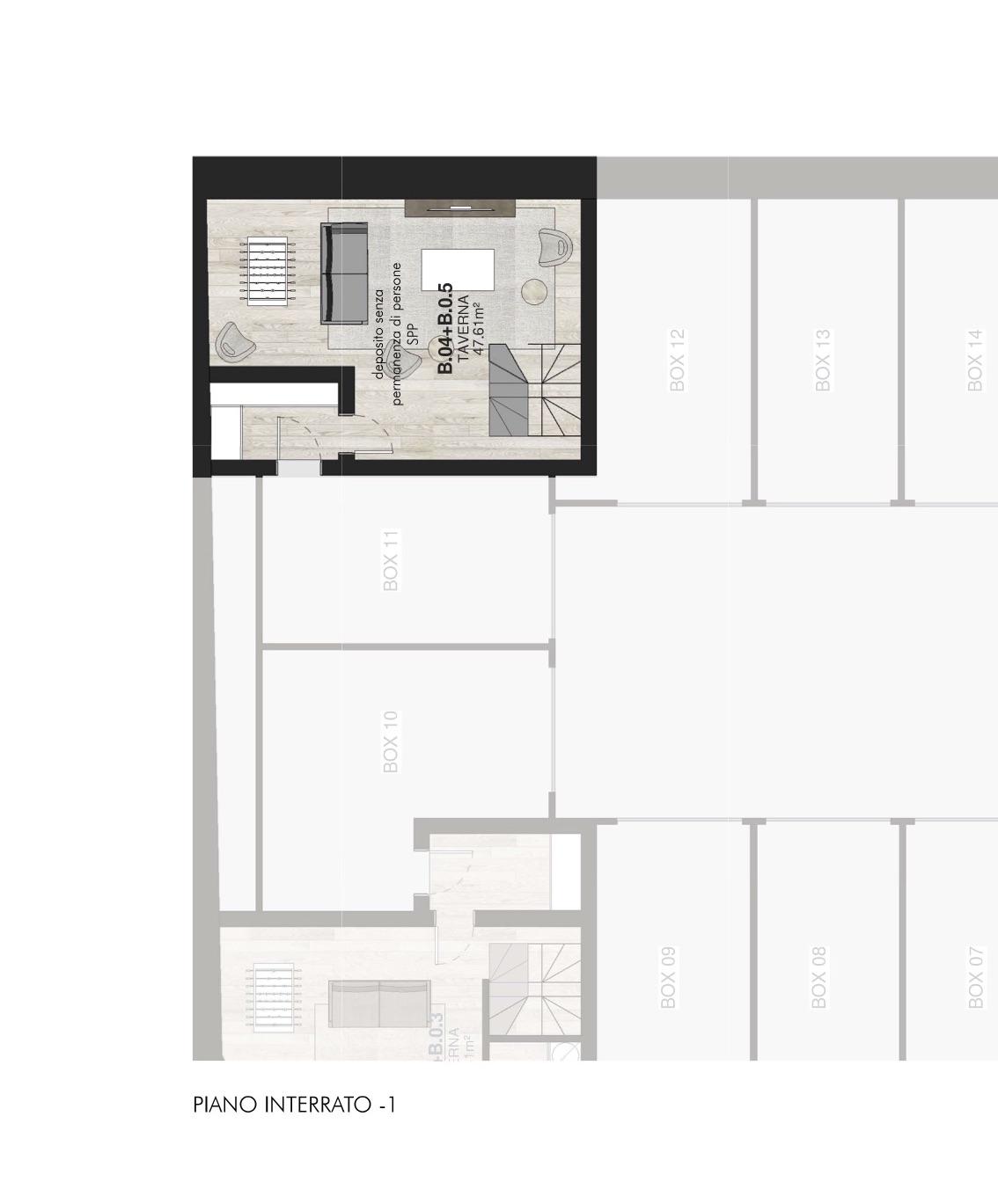 B0.4 + B0.5 Top Appartamenti con giardino Porta Romana Milano - Vasari 3