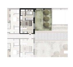 B0.6 Appartamento con giardino di Nuova Costruzione Porta Romana Milano - Vasari3